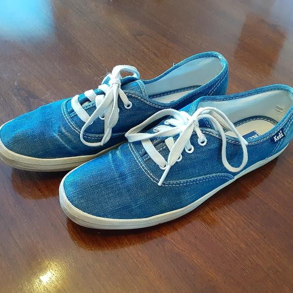 Vintage Denim Keds Champion Sneakers